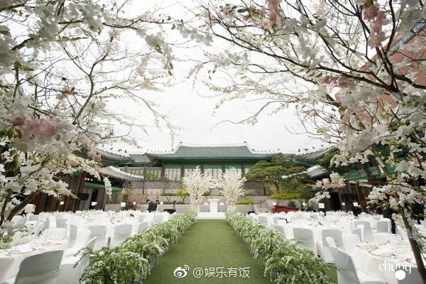 双宋户外婚礼场地曝光 花海包围美得可以拍韩剧