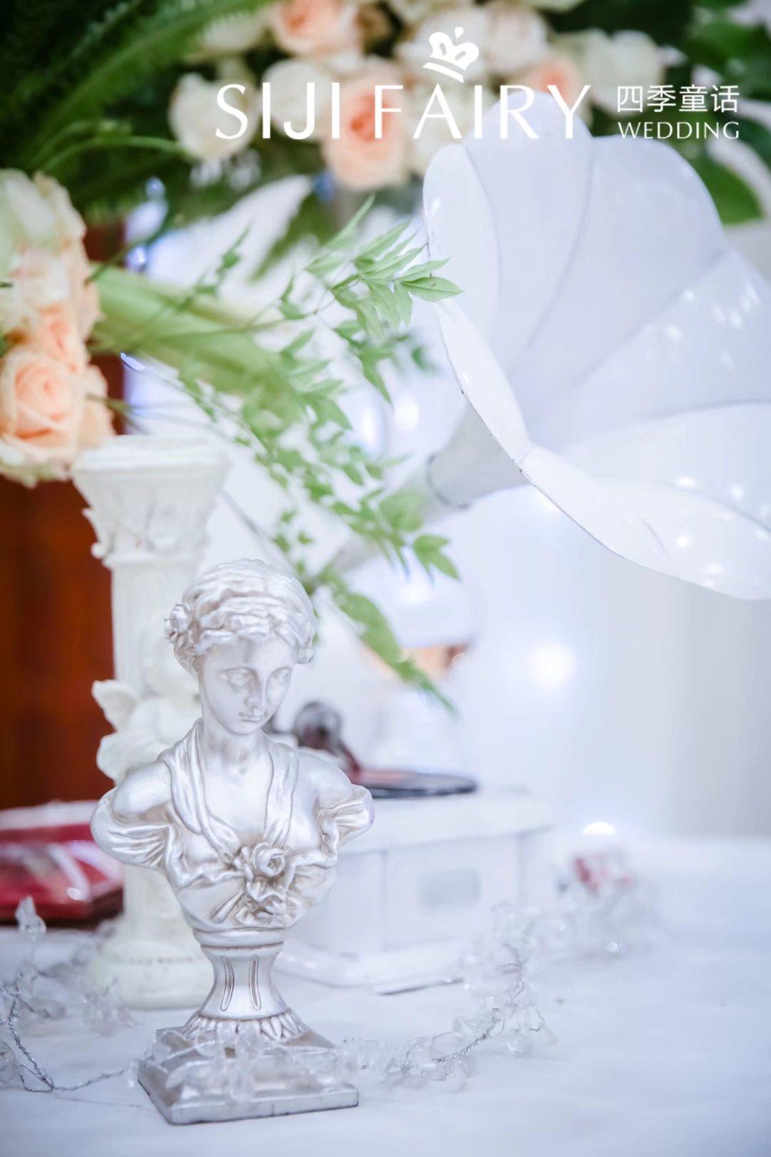 纯白大气婚礼